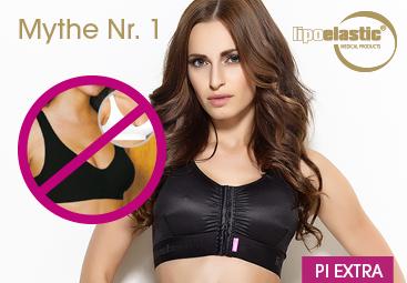 Mythe Nr. 1: Het is voldoende om een sport-bh te dragen na een borstingreep