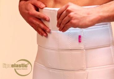 Hoe een LIPOELASTIC® buikband te dragen en te gebruiken?