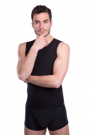 Mens slimming vest - LIPOELASTIC